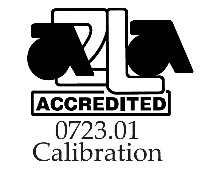 JJ Calibrations A2LA accredited 0723.01